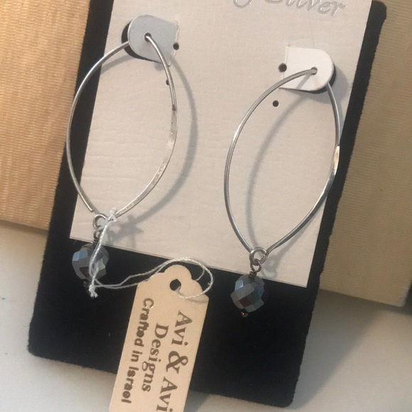 AVI AVI STERLING EARRINGS crafted in Israel